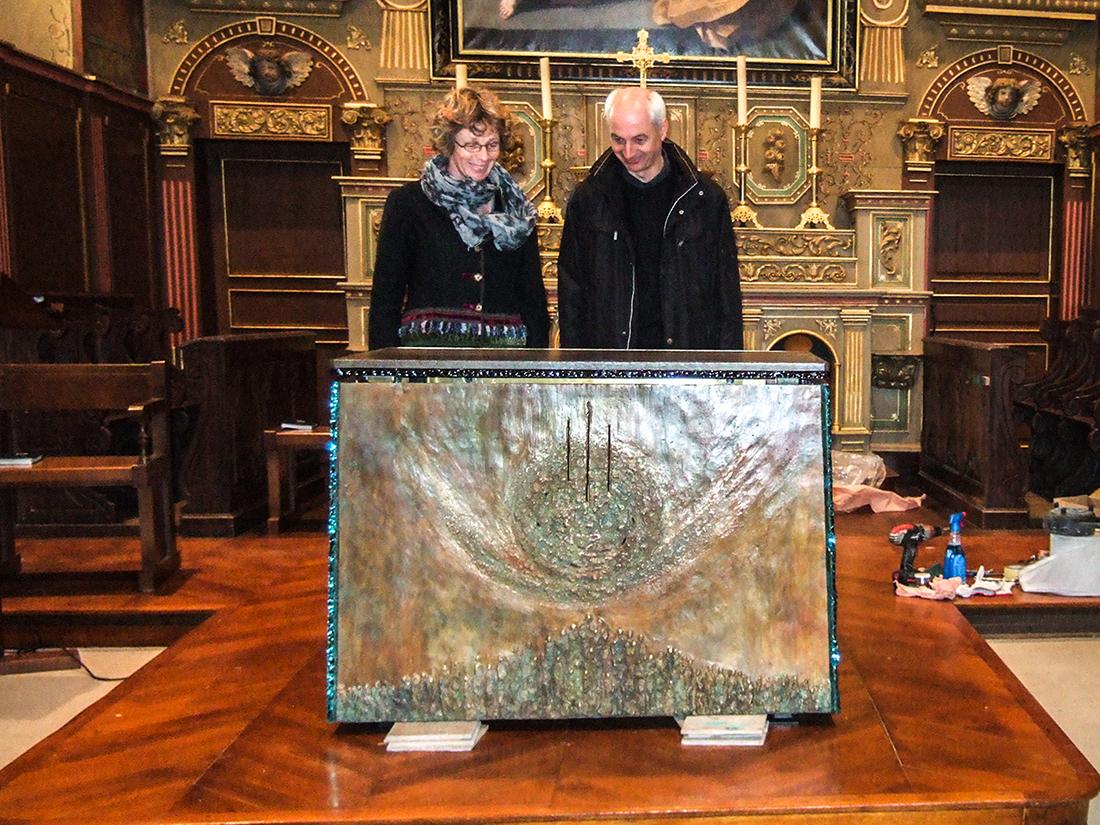 Art Sacré - Isabelle Blanchard, artiste sculpteur en Bretagne