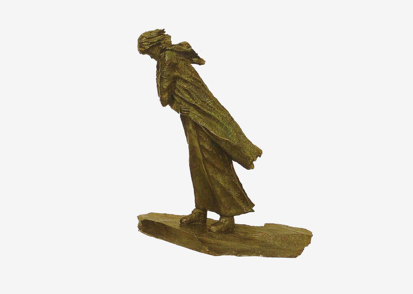 Isabelle Blanchard - Coup de vent (Bronze)