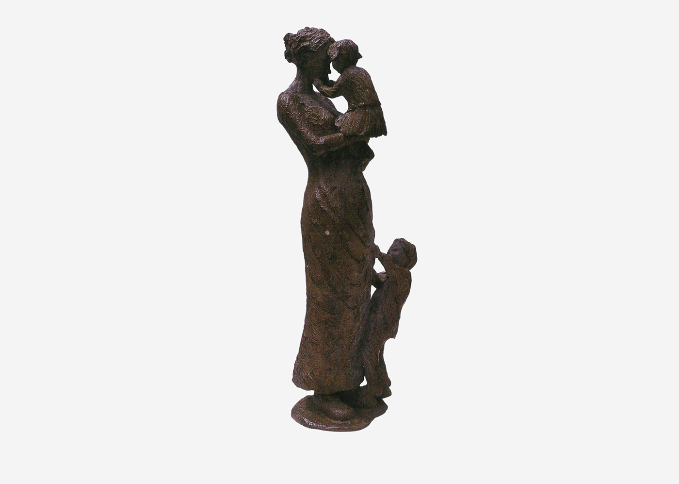 Isabelle Blanchard, artiste du volume en Bretagne - Frère et soeur (Bronze)