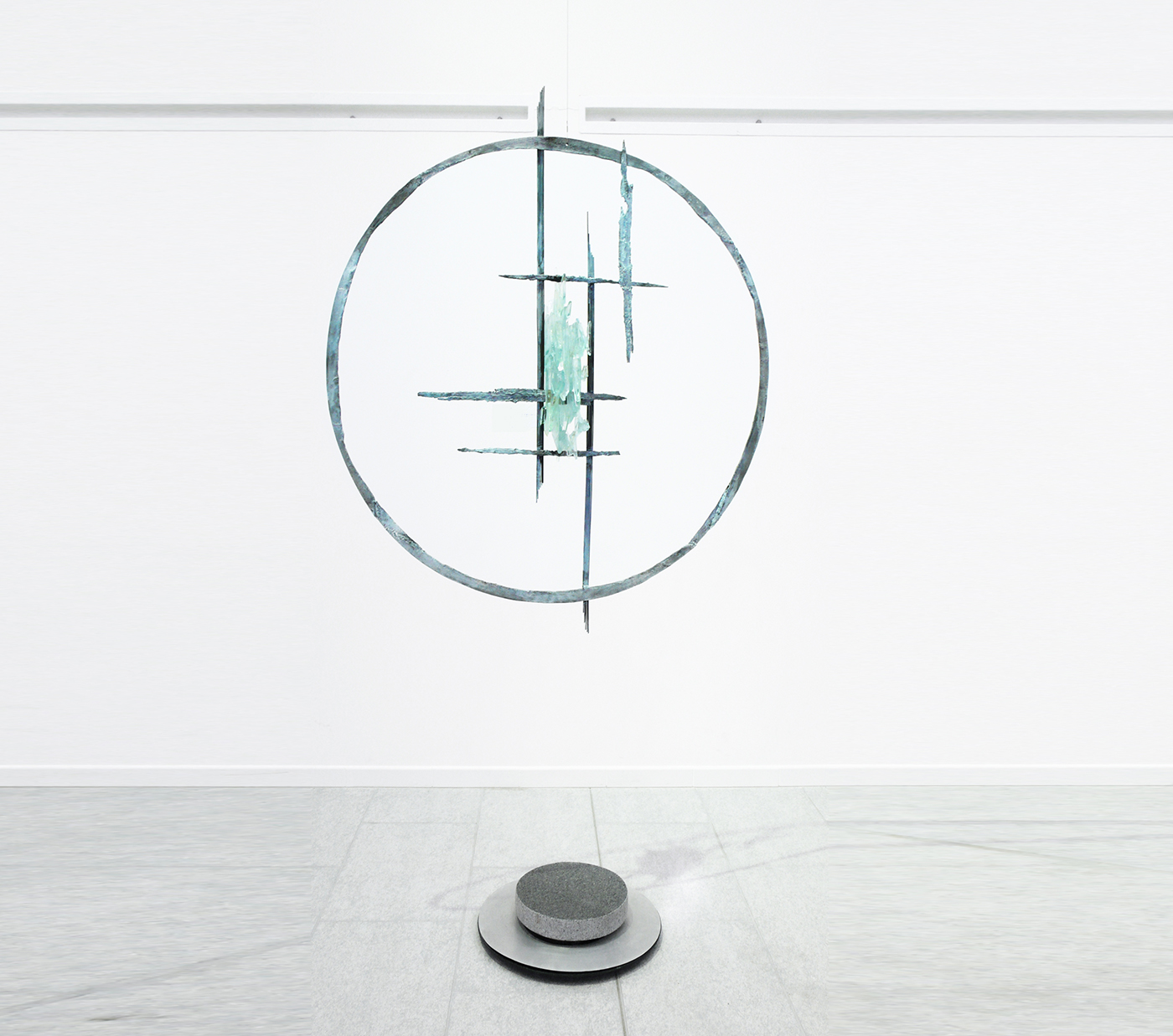 Isabelle Blanchard - bronze et pâte de verre